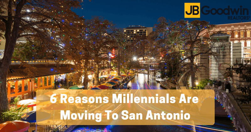 6 reasons millennials are moving to san antonio. Black Bedroom Furniture Sets. Home Design Ideas