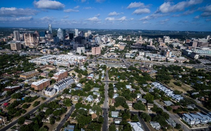 View of Central East Austin