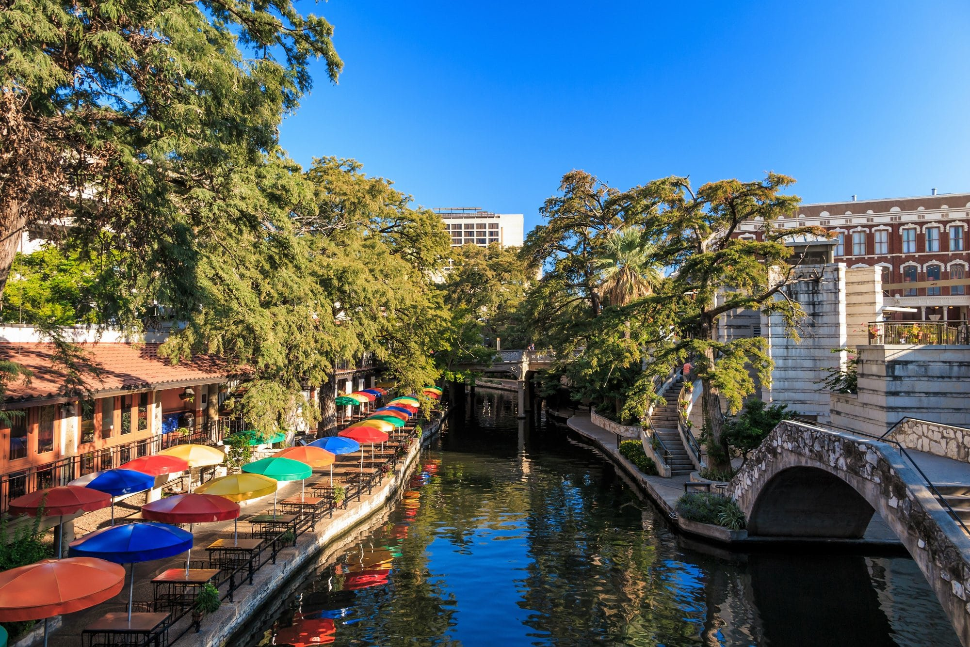 san antonio, tx famous riverwalk