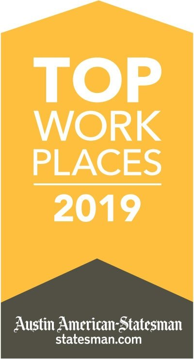 Austin Business Journal top workplaces award 2019