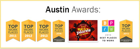 Top Work Places 2011 - 2015 The Austin American Statesman