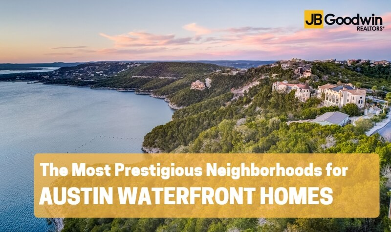 Austin Waterfront homes overlooking Lake Travis