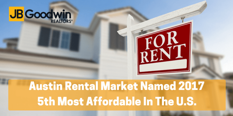 Austin Names One Of The Most Affordable Rental Markets For 2017
