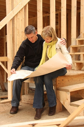 steps to building new home