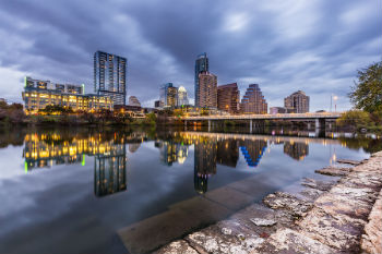A view of the real estate hotspot Austin