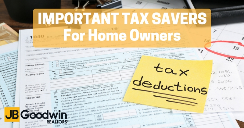 Important Tax Saving Tips for Home owners