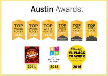 List of JBGoodwin awards for providing excellent service in Austin