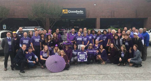 JB Goodwin Gives Back with PanCan Austin
