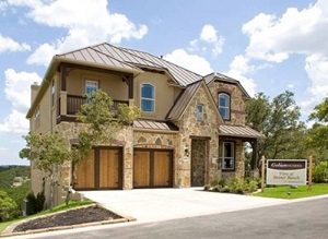 Steiner ranch model homes